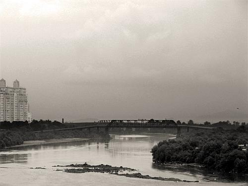 Bridge over a river in Thane - Street Photos