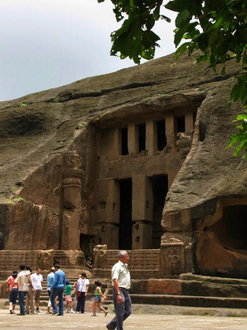 Chaitya entrance - Kanheri Caves