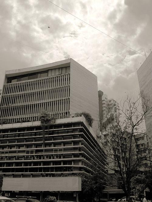 Shivsagar Estate in Worli - Street Photos