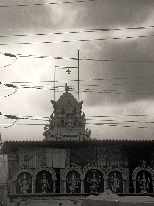 Temple gopuram - Street Photos