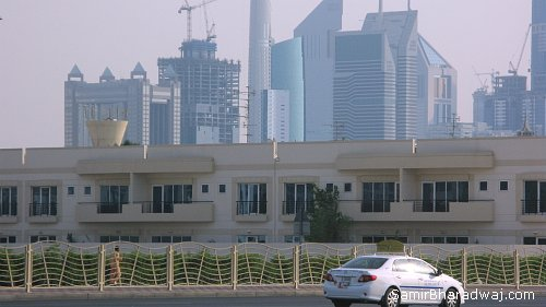 Dubai's urban landscape - Widescreen photo