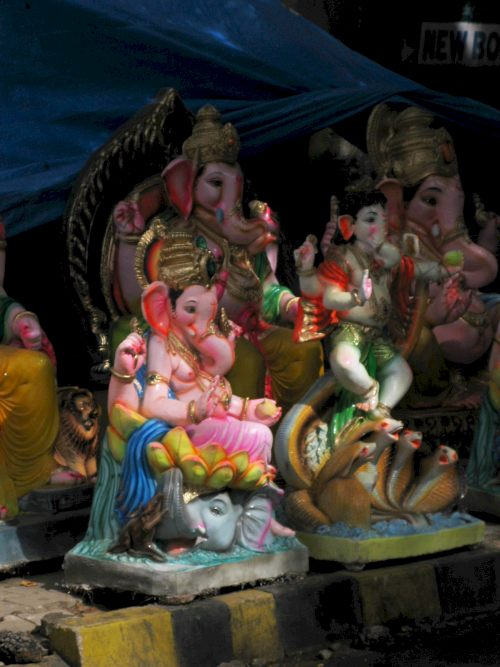 Ganesh idols on sale - Bengaluru