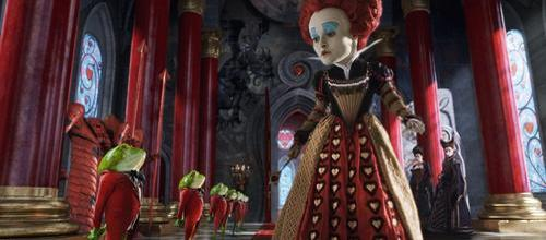 Helena Bonham Carter as The Red Queen - Alice in Wonderland