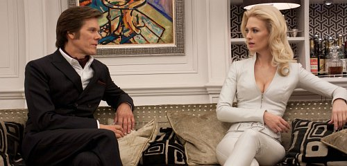 Kevin Bacon & January Jones - X-Men: First Class