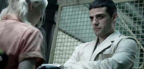Oscar Isaac as the orderly in Sucker Punch