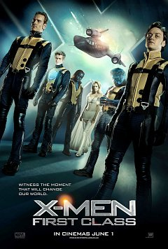 Poster - X-Men: First Class